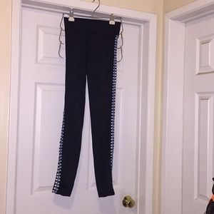 Carbon 38 crochet leggings